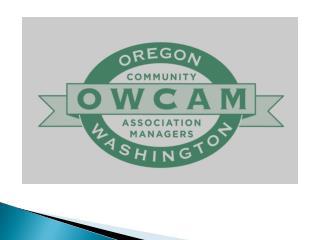 OWCAM (Oregon Washington Community Association Managers)