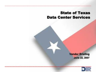 State of Texas Data Center Services