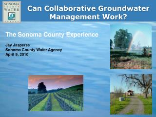 Can Collaborative Groundwater Management Work?
