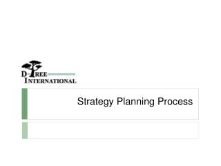 Strategy Planning Process