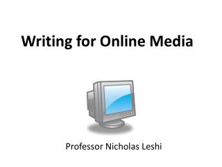 class 05 - cyberjournalism and criticism