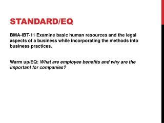 Standard/EQ