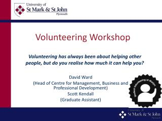 Volunteering Workshop