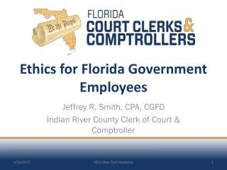 Ethics for Florida  Government Employees