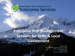 Enterprise Risk  Management Services for State & Local Government