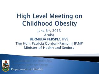 High Level Meeting on Childhood Obesity