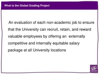What is the Global Grading Project