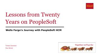 Lessons from Twenty Years on PeopleSoft