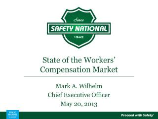 State of the Workers' Compensation Market