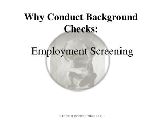 Why Conduct Background Checks: