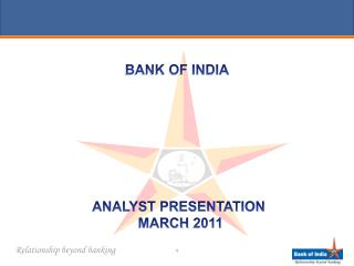 ANALYST PRESENTATION  MARCH 2011