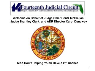Teen Court Helping Youth Have a 2 nd  Chance