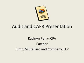 Audit and CAFR Presentation