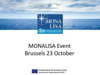 MONALISA Event Brussels 23  October