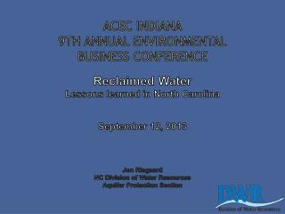 What is Reclaimed Water?