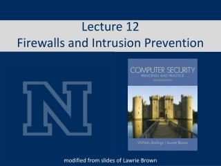 Lecture 12 Firewalls and Intrusion Prevention