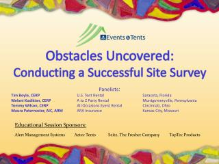Obstacles Uncovered: Conducting a Successful Site Survey