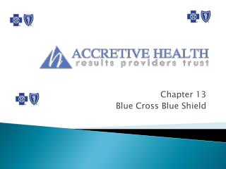 Chapter 13 Blue Cross Blue Shield