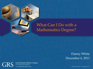 What Can I Do with a Mathematics Degree?
