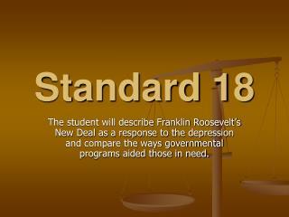 Standard 18