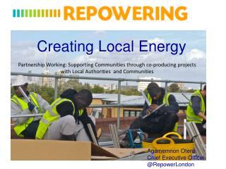 Creating Local Energy