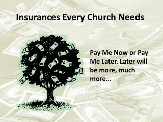 Insurances Every Church Needs