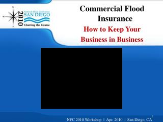 Commercial Flood Insurance How to Keep Your  Business in Business