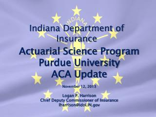Indiana Department of Insurance
