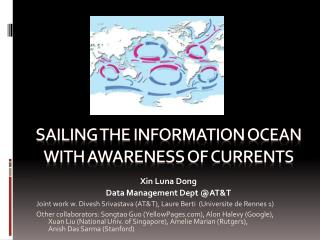 Sailing the Information Ocean with Awareness of Currents