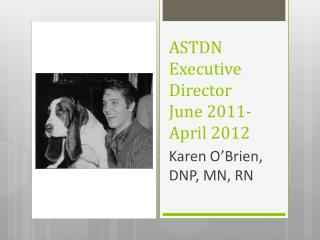 ASTDN Executive Director June 2011-April 2012