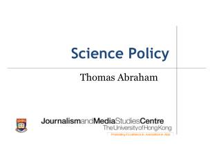Science Policy