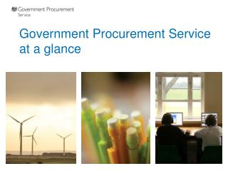 Government Procurement Service at a glance