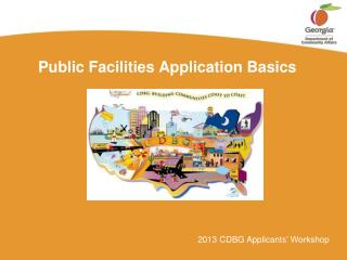 Public Facilities Application Basics