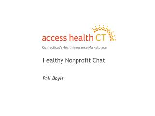 Healthy Nonprofit Chat Phil Boyle