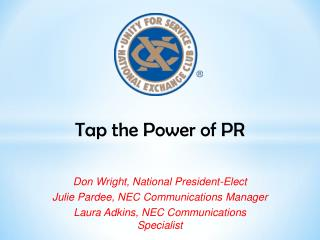 Tap the Power of PR