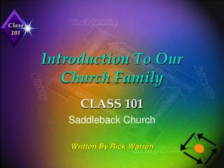 Introduction To Our Church Family
