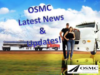 OSMC Latest News &  Updates!