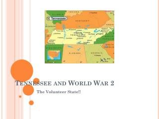 Tennessee and World War 2