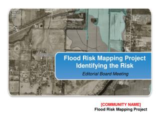Flood Risk Mapping Project Identifying the Risk