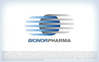 A brief introduction to Bionor Pharma