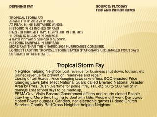 Tropical Storm Fay