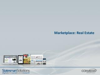 Marketplace: Real Estate