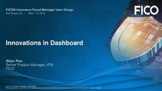 Innovations in Dashboard