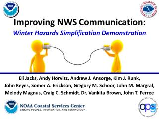 Improving NWS Communication: