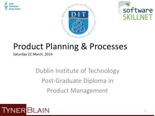 Product Planning & Processes Saturday 22 March, 2014