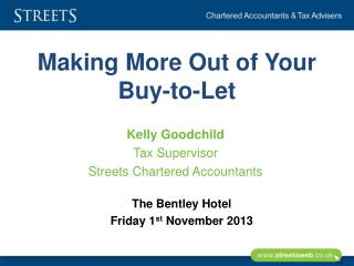Making More Out of Your Buy-to-Let