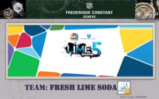 Team:  Fresh LIME Soda