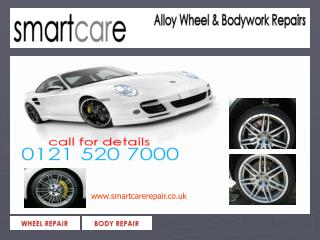 Refurbished Alloys and  alloy wheel repair