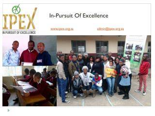 In-Pursuit Of Excellence