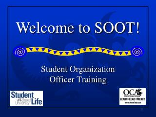 Student Organization Officer Training